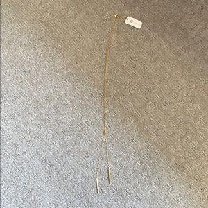 Gorjana adjustable necklace.